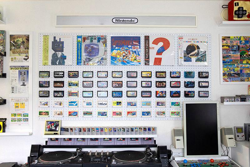 ゲームカセットボード