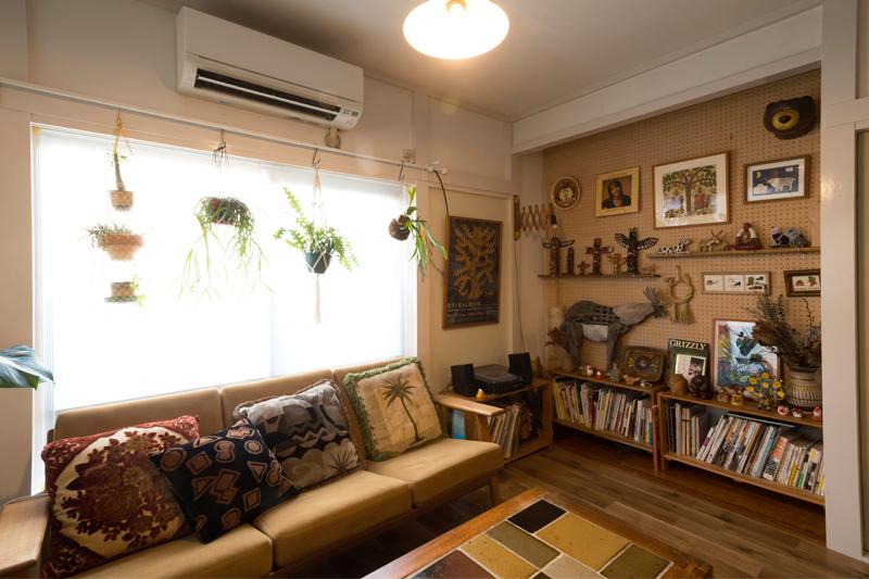 リラックスできるコレクション部屋
