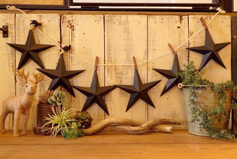 星型のガーランド