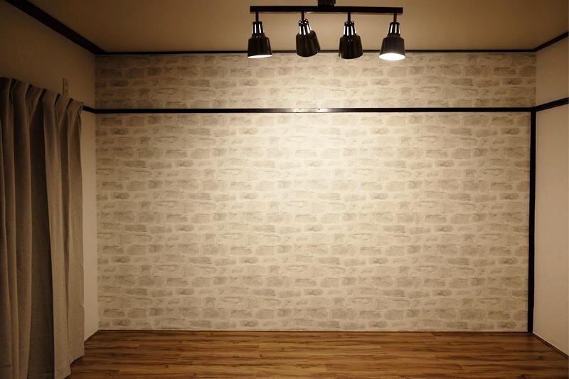 壁紙の貼り替え完成