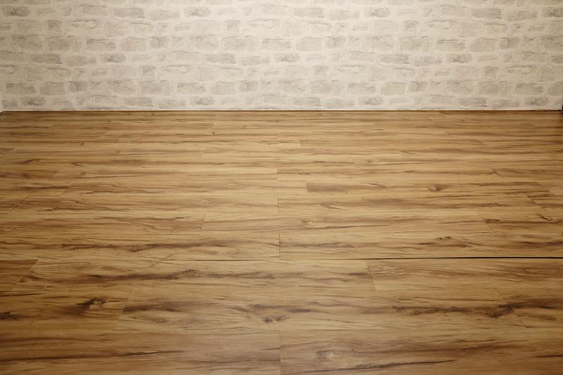 床の貼り替え完成