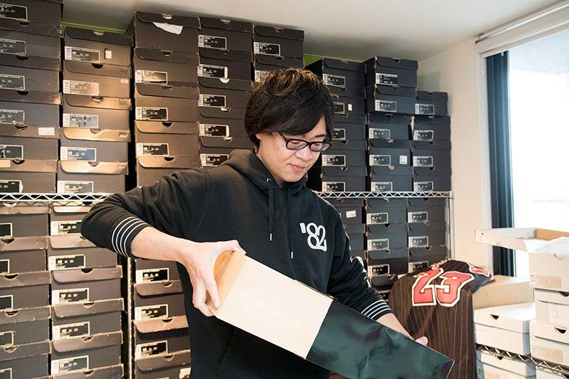 スニーカーをコレクションするyusuke_airforce1さん
