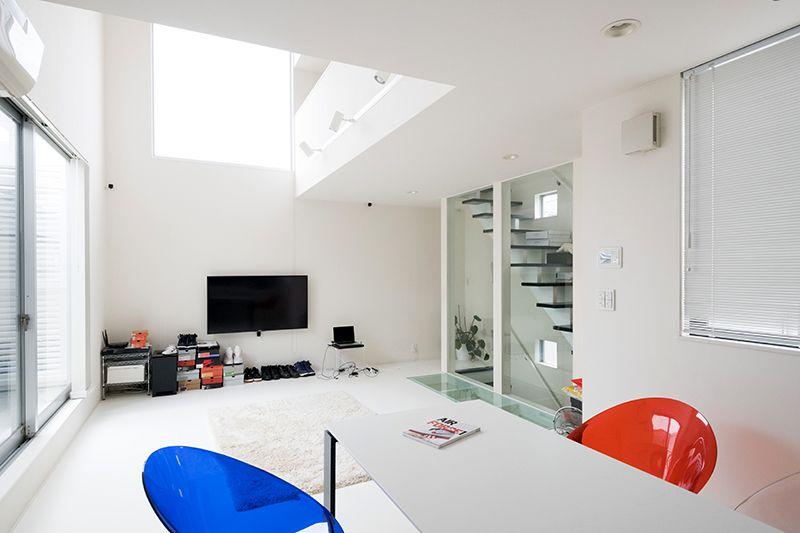 1LOVEをモチーフに設計された家