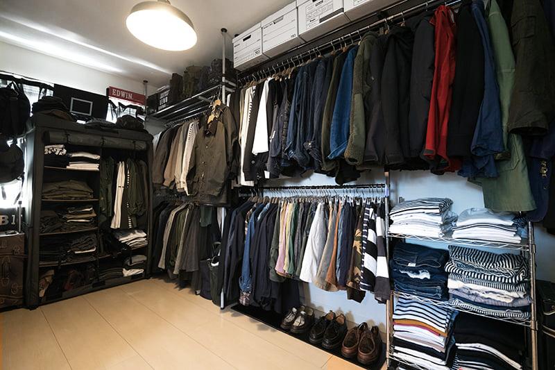 コレクションの洋服