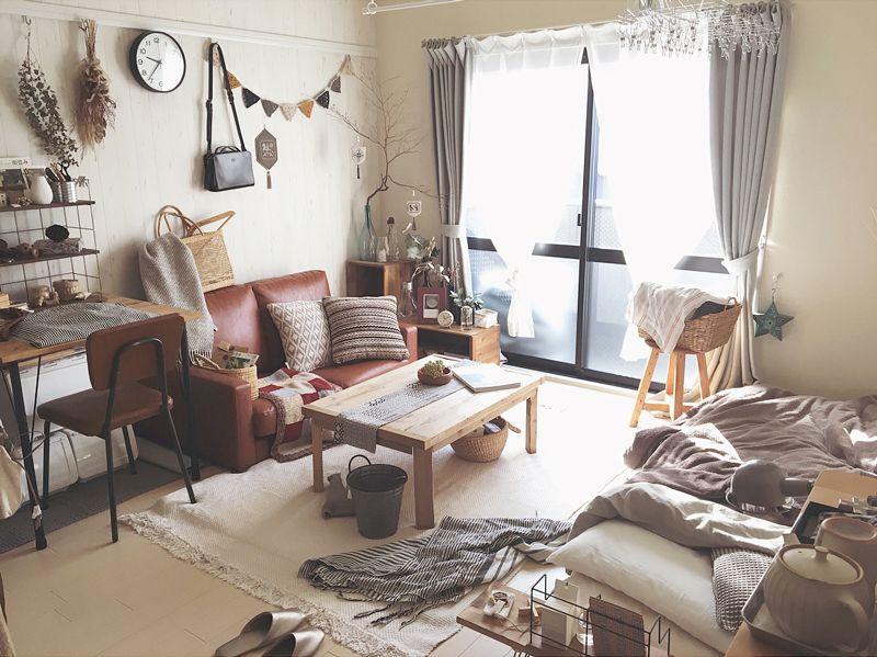 シャビーシックな部屋