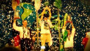 熱気球世界選手権で優勝