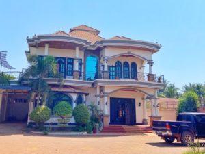 カンボジアで宿泊した寮施設