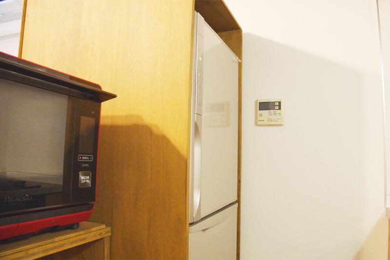 冷蔵庫の目隠しカバー