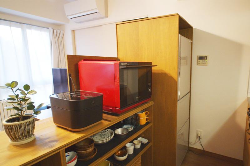 キッチンの内側After