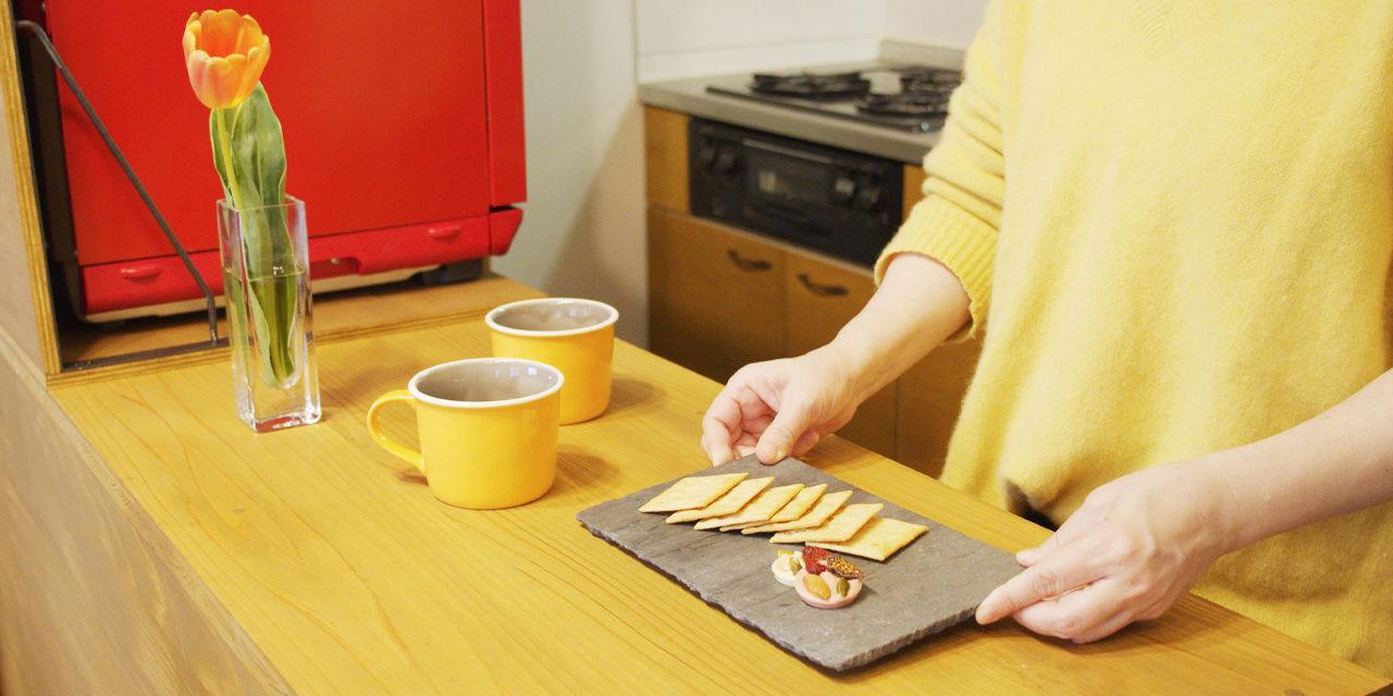 【賃貸DIY】収納付きキッチンカウンターで無印のゴミ箱も食器もすっきり収納【図面付き】