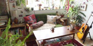 あの人の偏愛部屋vol.12 | 植物に囲まれて暮らす!映画からインスピレーションを得てつくりあげた植物愛が過ぎる部屋(SHINPEIさん)