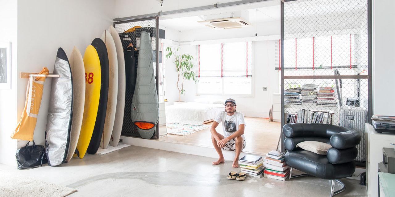 ヴィンテージマンションを巨大なワンルームに。DIYで作り上げた非日常空間|わがままな住まいvol.2