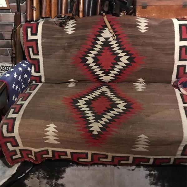 ナバホ族のブランケット