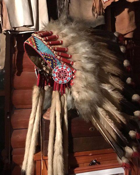 インディアンの冠