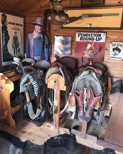 馬具のコレクション