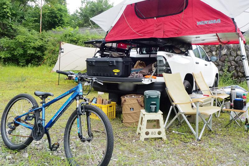 キャンプ好きのバン