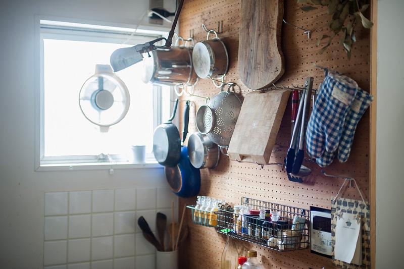 キッチンの壁面収納
