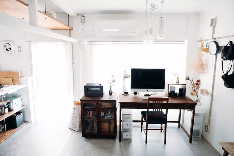 白をコンセプトにした部屋