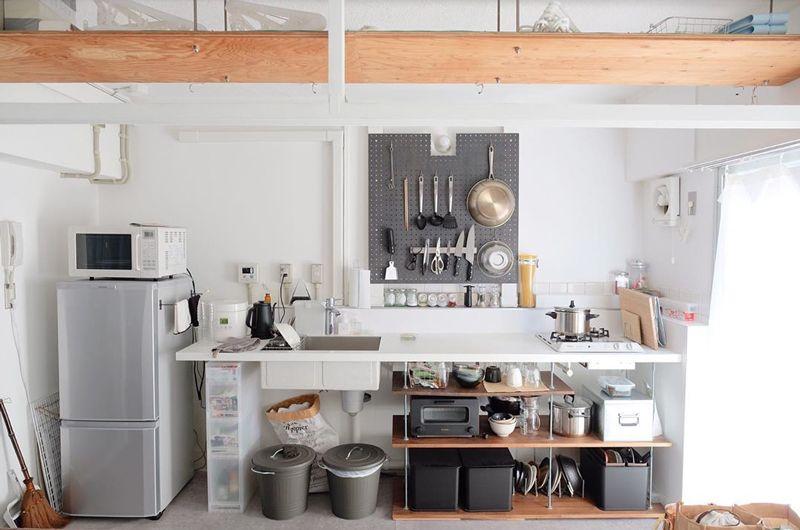 DIY前のキッチン
