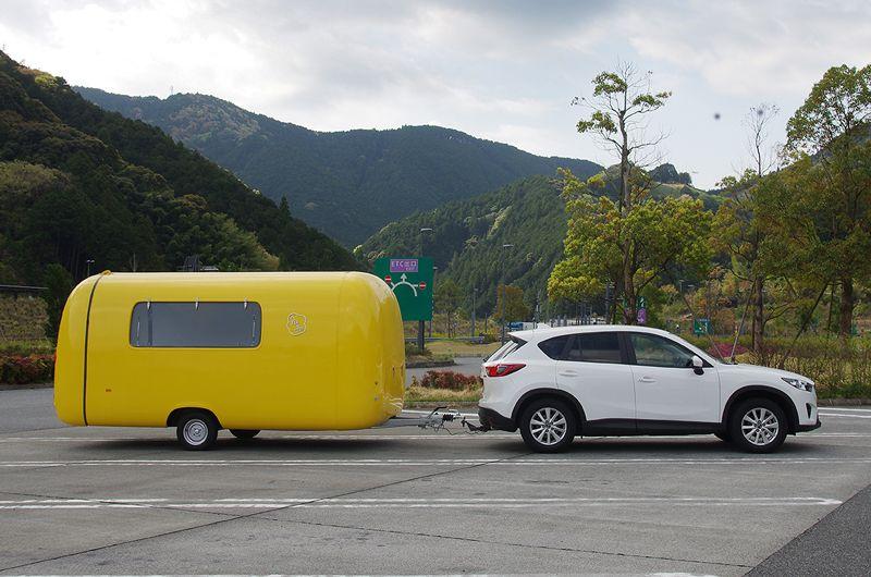 高速道路でRoometteを移動させる