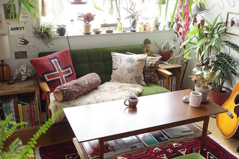 植物愛のすぎる部屋