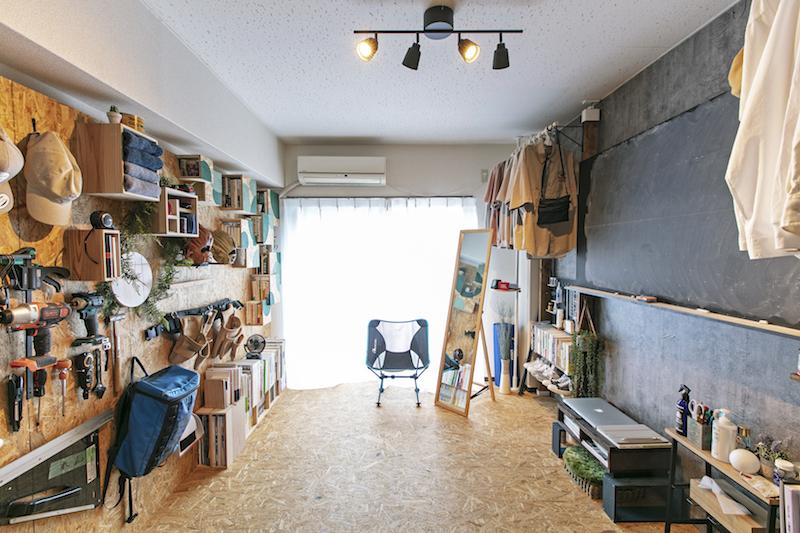 DIY賃貸「アパートキタノ」川尻さんのお部屋