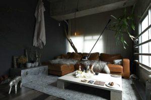 背の低い家具で開放的な空間づくり