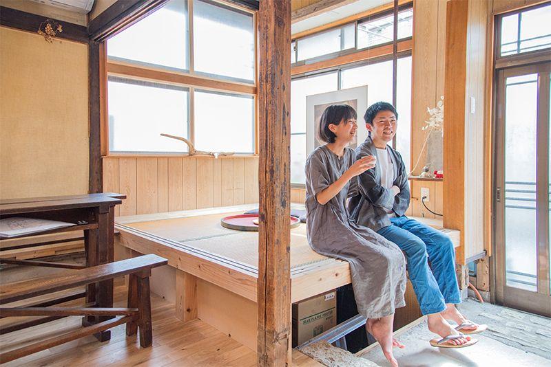 ご夫婦の理想を詰め込んだ住み開き空間