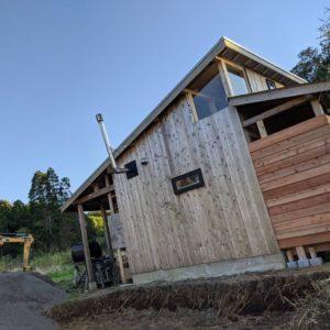 南房総の拠点のひとつである小屋