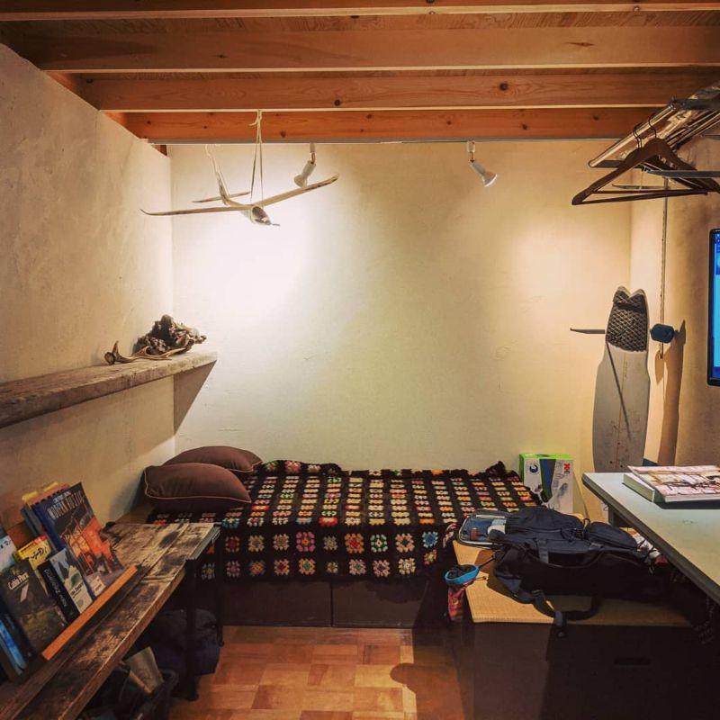 西洋漆喰の壁や棚をDIY