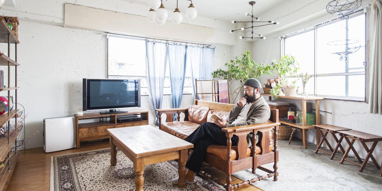 ものづくりの文化に敬意を。古き良き家具への愛に溢れたヴィンテージ空間|わがままな住まいvol.9