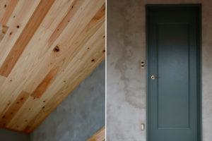 DIYで断熱効果を高めた天井と壁