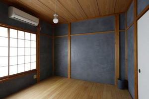 漆喰壁塗装のインスピレーションは金沢の成巽閣から
