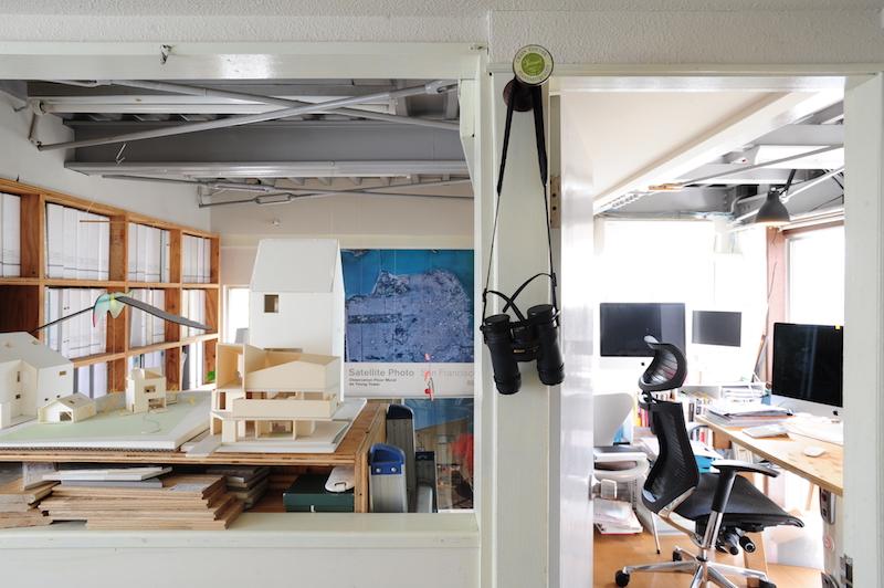 プライベートと仕事空間の棲み分け