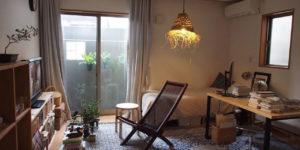 本好き・旅好き・工芸品好きがつくる来客が過ごしやすい部屋